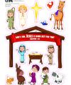 Nativity Magnet