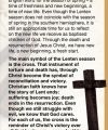 Lent - A Time of Reflection