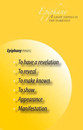 Epiphany - A Light Shines in the Darkness
