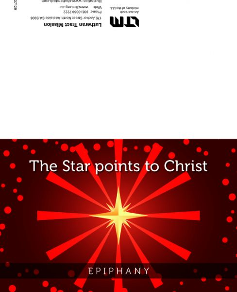 The Star points to Christ