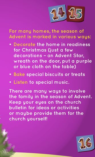Advent - Getting ready for Christmas