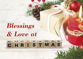 Blessings and Love at Christmas
