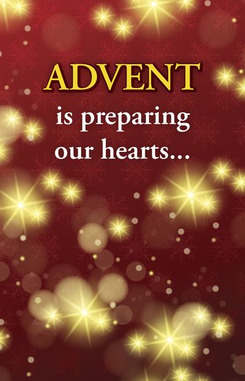 Advent is preparing our hearts