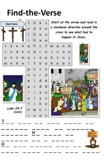 The Easter Story Activity Book