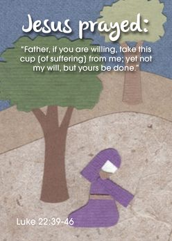Jesus prayed Father if you are willing