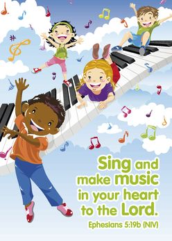 Sing and make music in your heart to the Lord