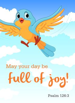 May your day be full of joy