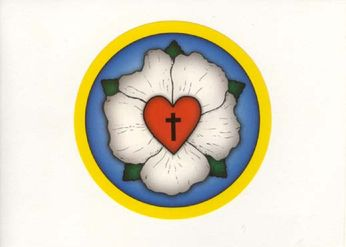 The Luther Rose (sticker)