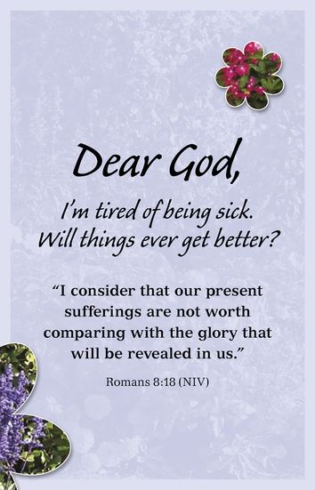 Give Me Strength Lord, in My Sickness