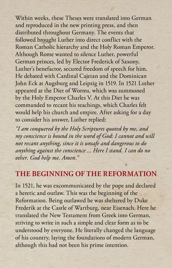 Martin Luther - The Reformation of the Church