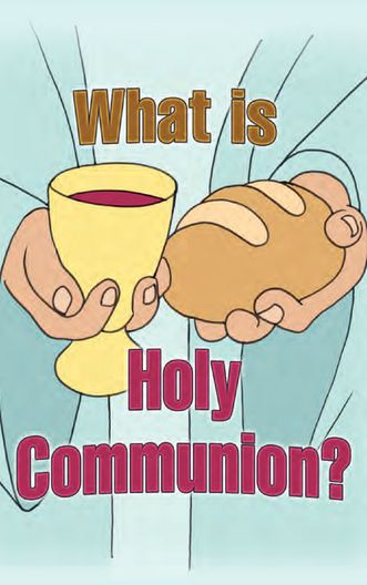 What is Holy Communion? (cartoon)