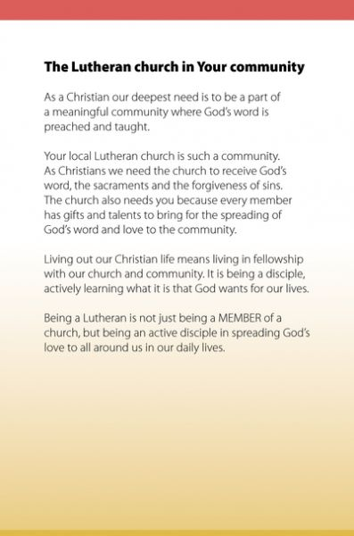 What is a Lutheran?