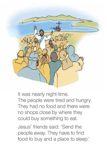 Jesus Feeds a Big Crowd