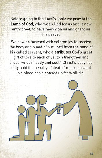 The Service with Communion Explained