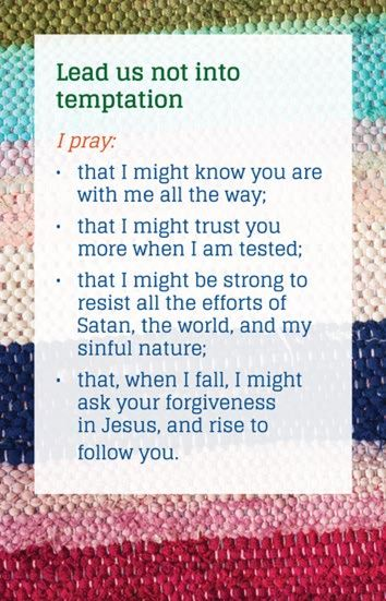 Praying the Lords Prayer