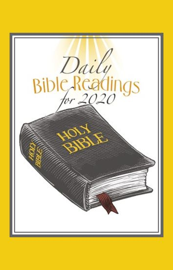 Daily Bible Readings for 2020