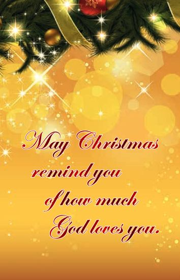 A prayer for you at Christmas