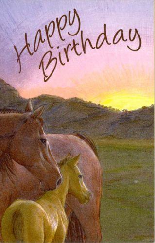 Happy Birthday Horses Ltm