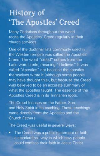 a comparison of the lords prayer and the apostles creed Das apostolische glaubenbekenntnis und die bibel (the apostles' creed - german) ich glaube an gott, den vater, den allmächtigen, den.